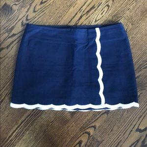 Lilly Pulitzer true navy Michelina skort